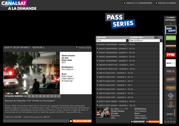 Canalsat Pass Series