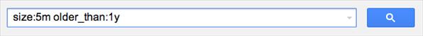 google docs option recherche