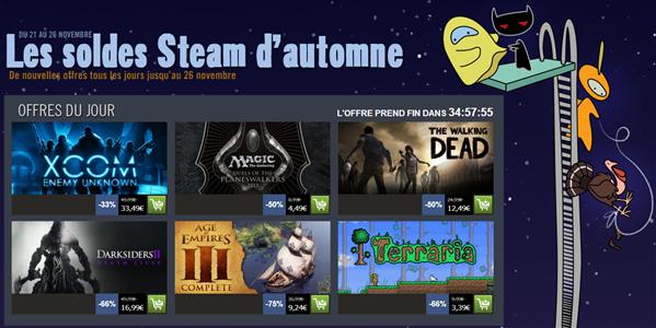 Steam Soldes automne