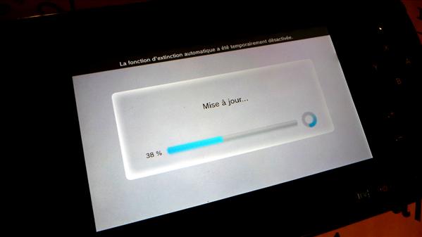 Wii U Mise à jour