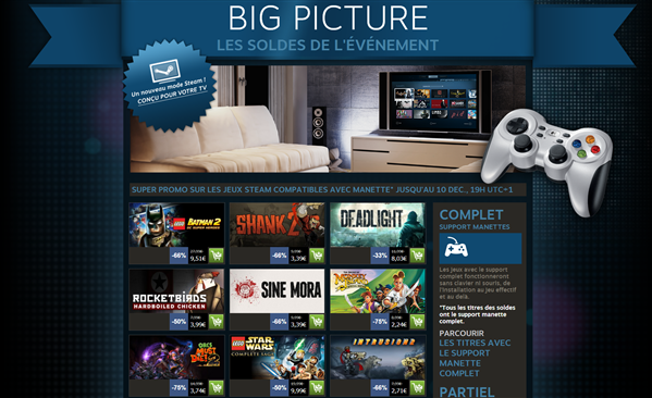 steam promotions big picture