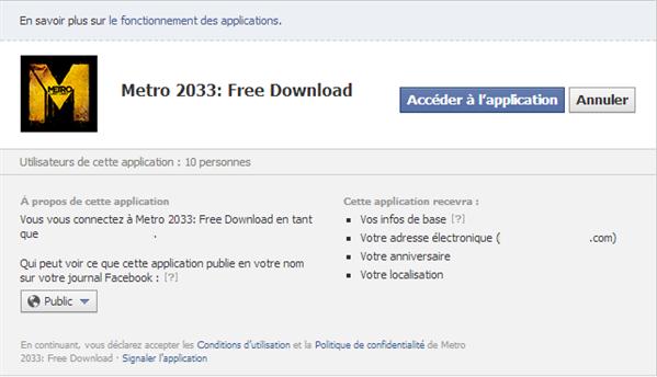 Metro 2033 Facebook