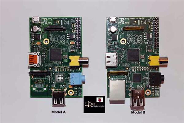 raspberry pi model A B DesignPark