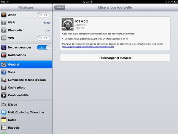 Apple iOS 6.0.2