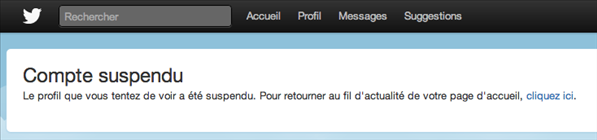 twitter blocage inaccessible