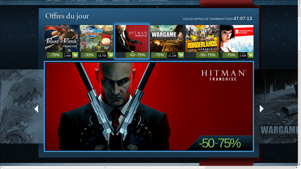 Soldes Steam Hiver