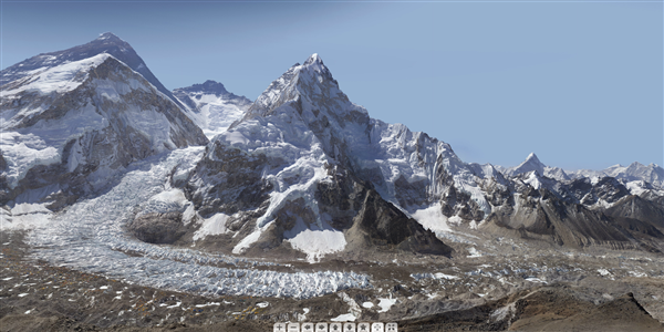 Mont Everest Gigapixel