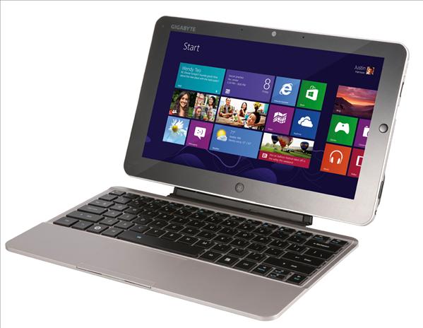 Gigabyte S1185 tablette Windows 8