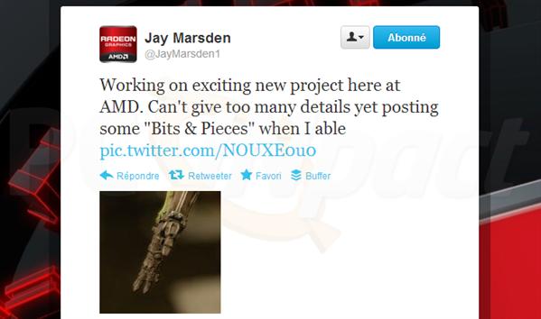 Teasing AMD