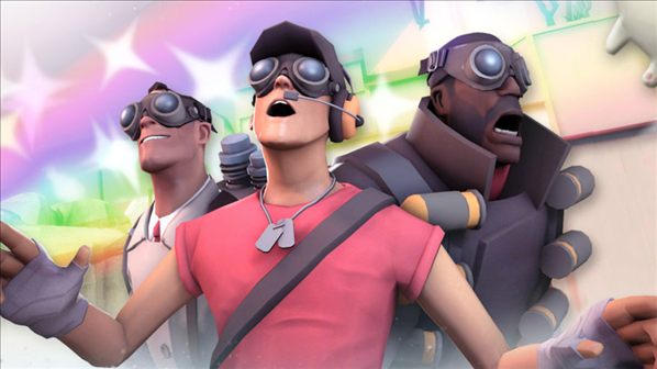 Team fortress valve VR