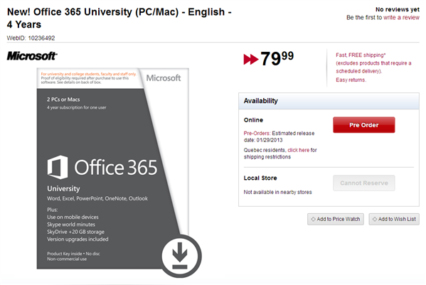 office 365 2013