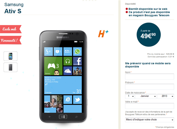 ativ s bouygues