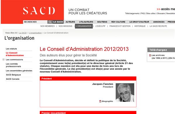 Jacques Fansten SACD