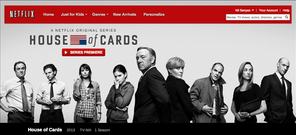 House of Cards Netflix