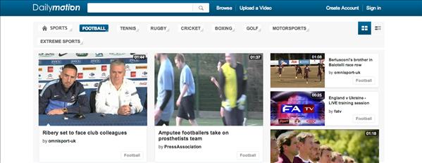 Dailymotion Football