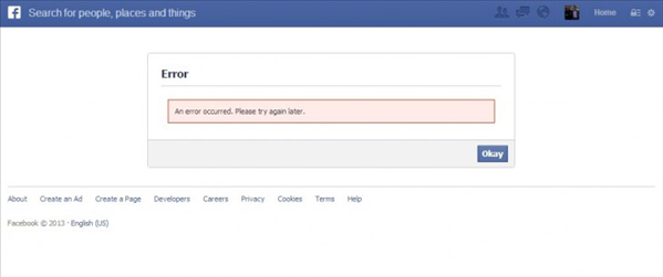 facebook connect probleme