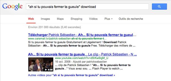 google gueule