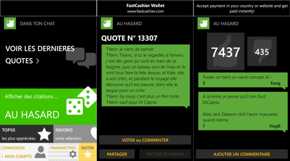 Dans Ton Chat Windows Phone 8