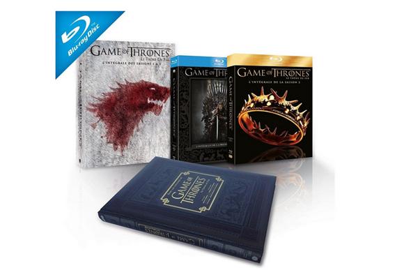 Game of Thrones intégrale saison 1 et 2
