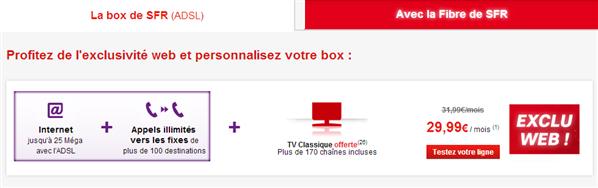 SFR La box