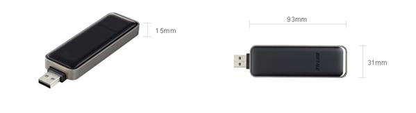 Buffalo clé USB Wi-Fi 802.11ac USB 2.0