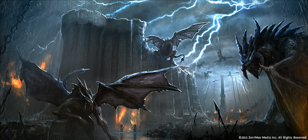 The Elder Scrolls Online Artwork