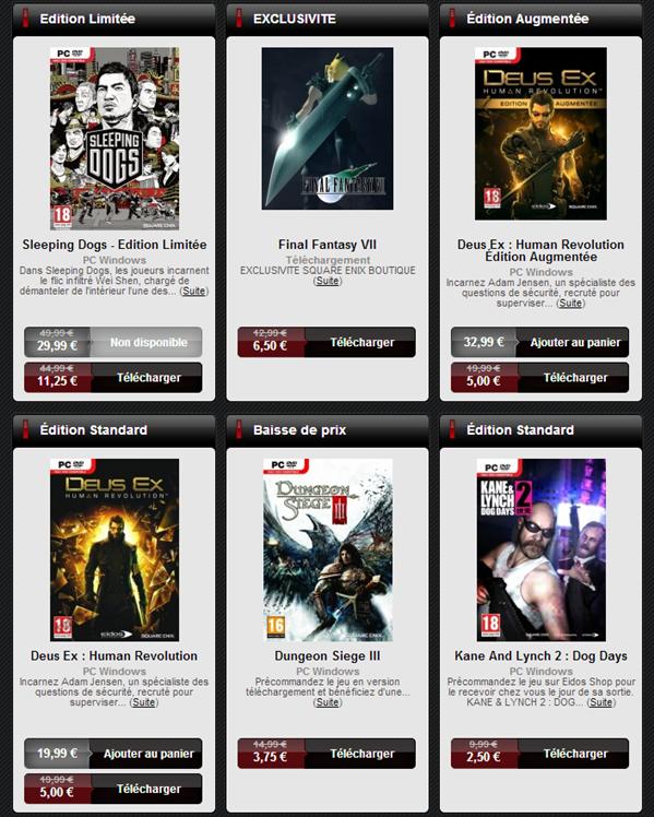 Square Enix promotion