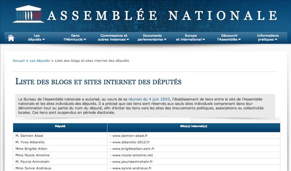 assemblée nationale blog députés