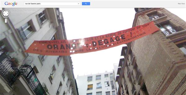 orange dégage