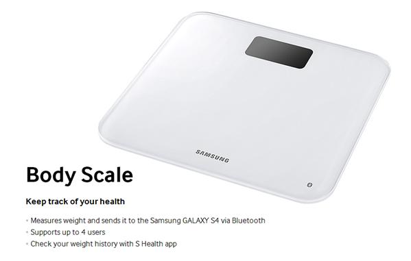 Galaxy S4 pèse personne
