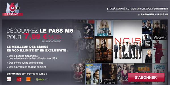 Pass M6 SVOD séries