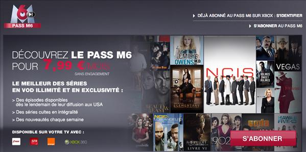 Pass M6 SVOD séries
