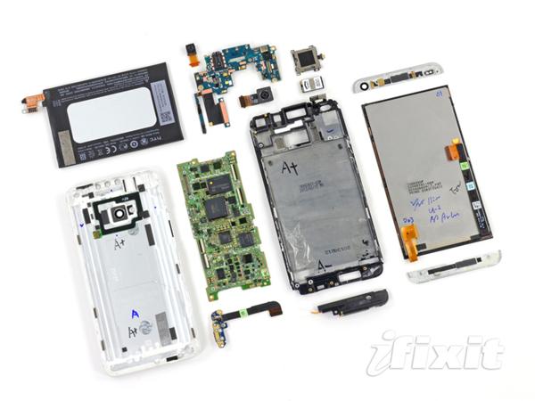 HTC One demontage