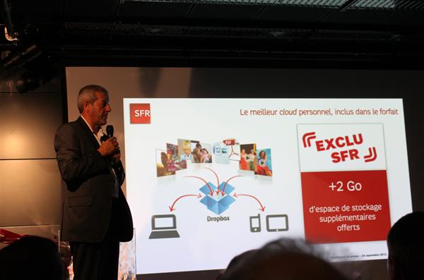 Conférence SFR 4G