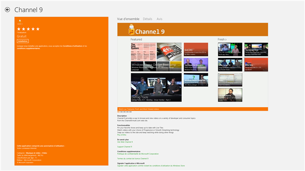 Channel 9 Windows 8