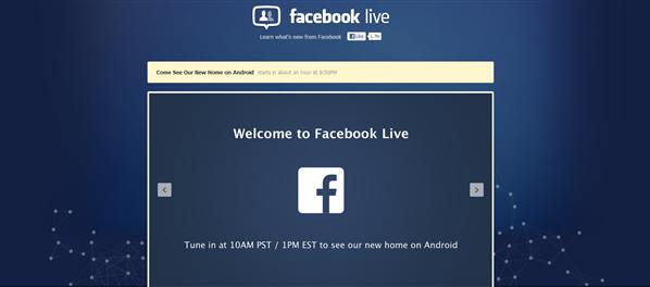 Conférence Facebook 4 avril