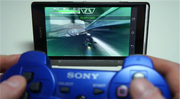 Sony Xperia avec DualShock 3 PS3