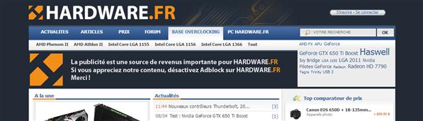 Hardware.fr Adblock
