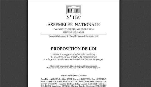proposition loi action de groupe