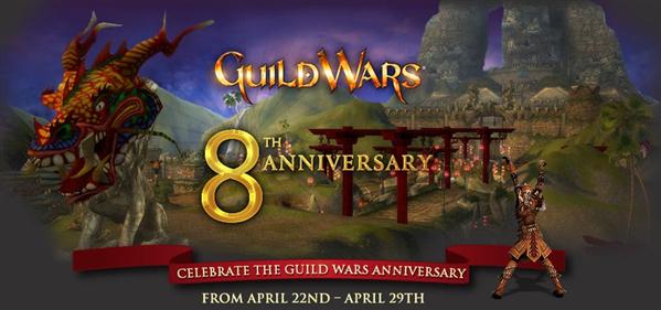 Guild Wars Anniversaire 8 ans