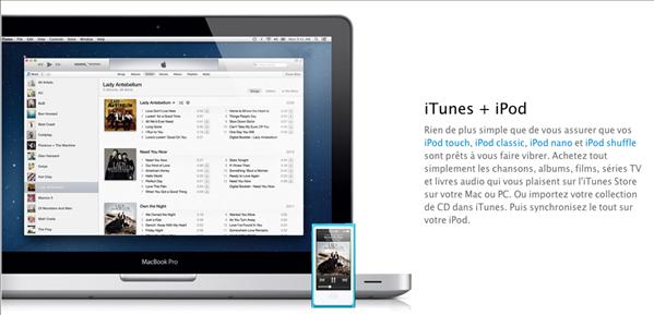 iTunes Music Musique iPod