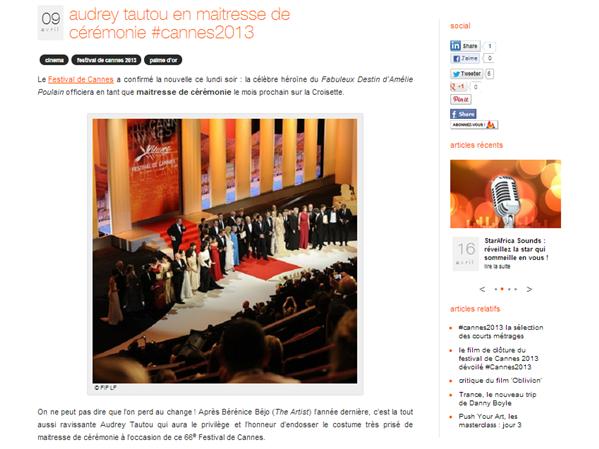 Orange Live Cannes