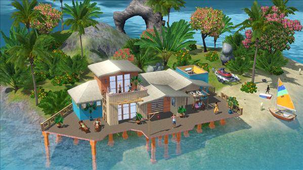 Les Sims 3 Ile de Rêve