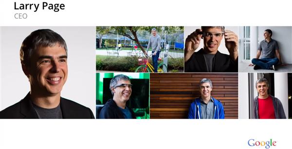 Larry Page résultats financier conférence