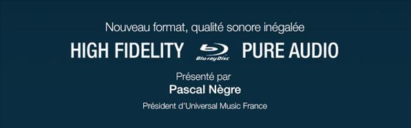 Blu-Ray High Fidelity Pure Audio