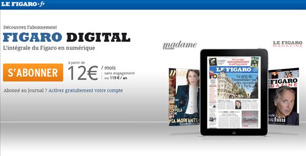 Abonnement Le Figaro