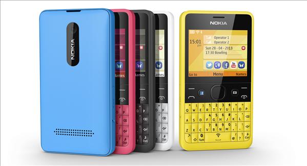 Nokia Asha 210 Facebook