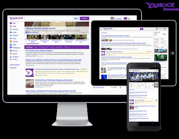 Yahoo! Stream Ads