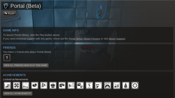 Portal Steam Linux