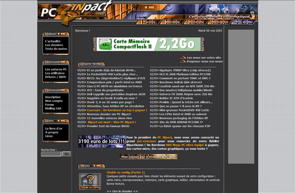 PC INpact v1 Edition 2003